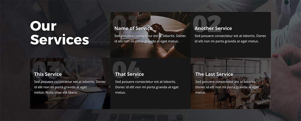 Service Blocks